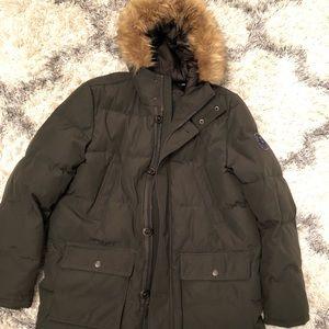 Men's Tommy Hilfiger down jacket, size L